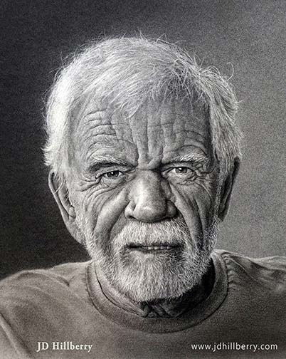 pencil drawing by JD Hillberry